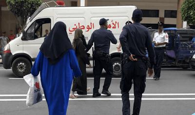 اعتقال منقبة