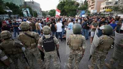 الجيش اللبناني يطلق النار