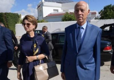 زوجة الرئيس التونسي الجديد