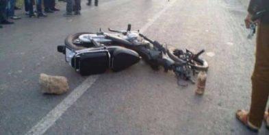 حادث سير - دراجة