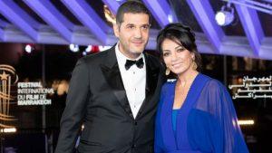 نبيل عيوش وزوجته