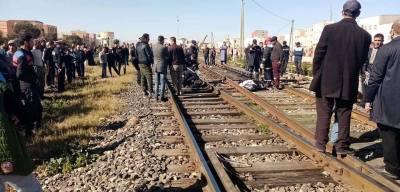 قطار - حادث