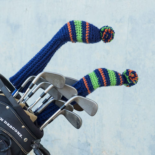 golf headcover free patterns for father's day