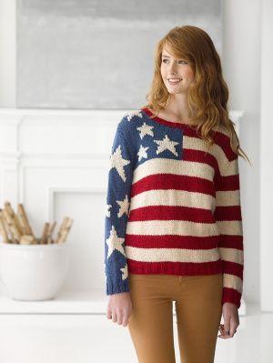 patriotic pullover
