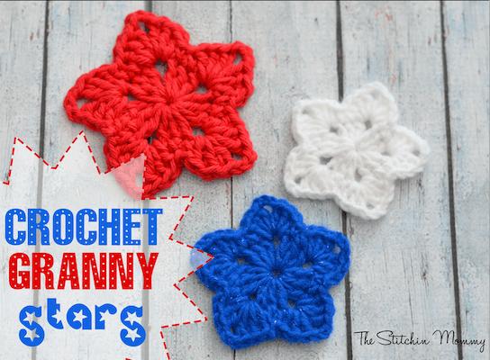 granny crochet stars