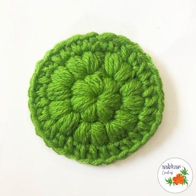 aabhar creations crochet face scrubbie pattern