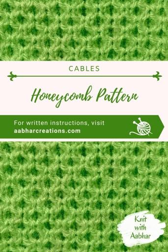 Honeycomb Stitch Pin Image aabharcreations