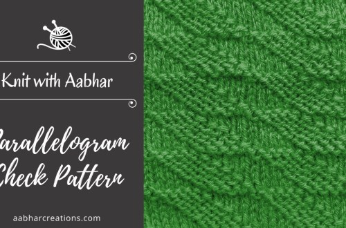 Parallelogram check featured aabharcreations