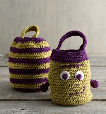Halloween Treat Bags Pattern free halloween crochet patterns