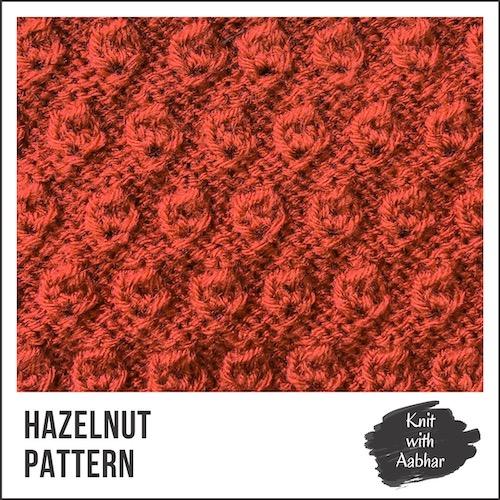 Hazelnut Stitch Pattern