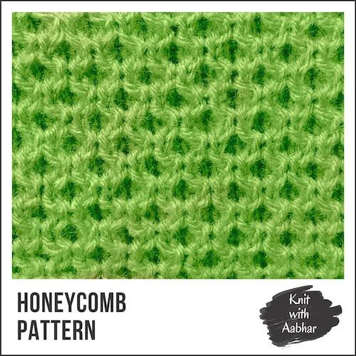 Honeycomb Stitch Pattern