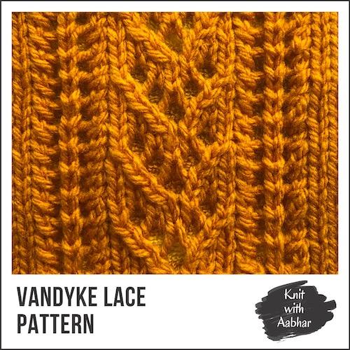 Vandyke Lace Stitch Pattern