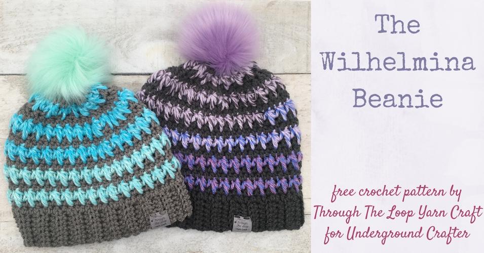 Wilhelmina-Beanie free crochet pattern