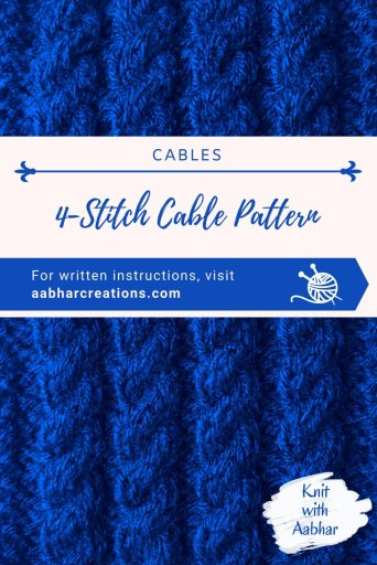 4-Stitch Cable Pin