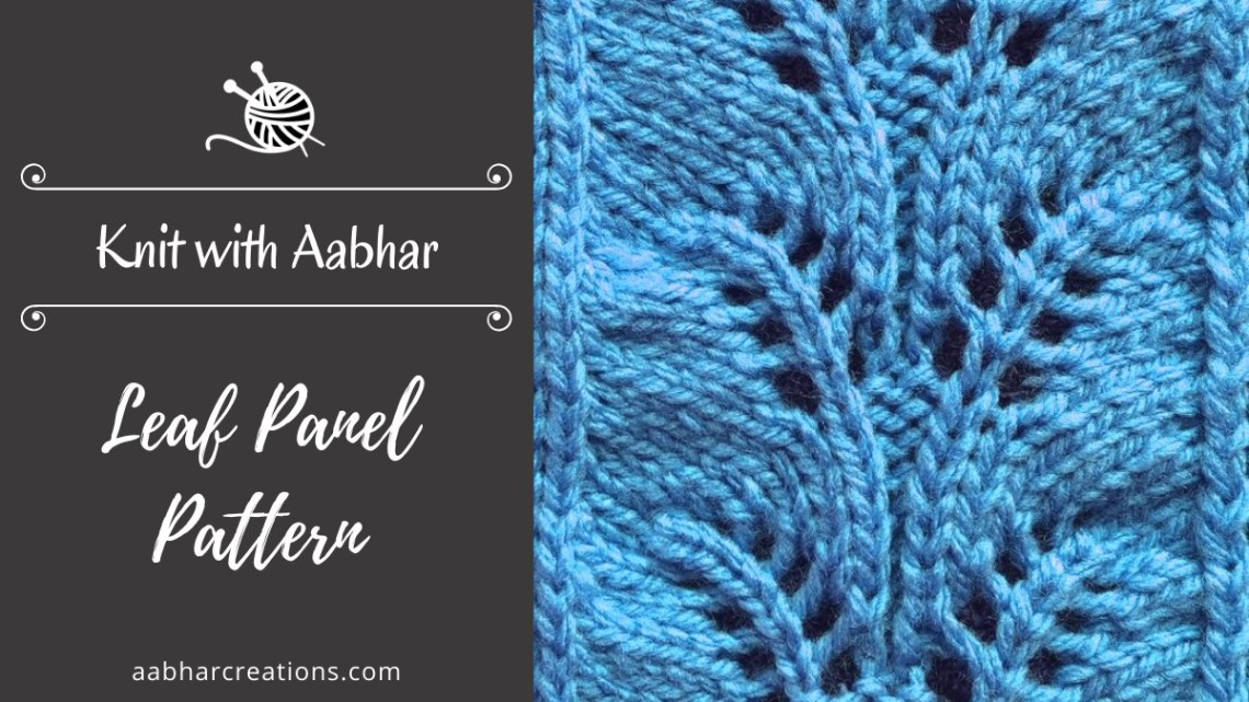 Leaf Panel Stitch Featured aabharcreations