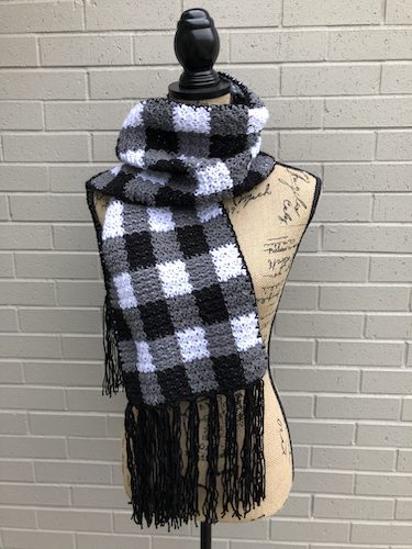 No Plaid About It Scarf