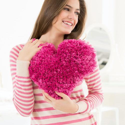 Red Heart Be Still My Heart Pillow