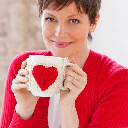 Red Heart Valentine Mug Hug