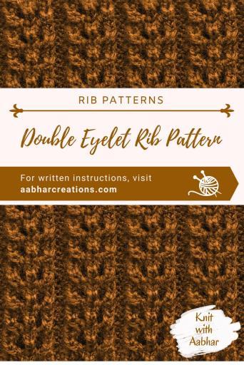 Double Eyelet Rib Pin aabharcreations