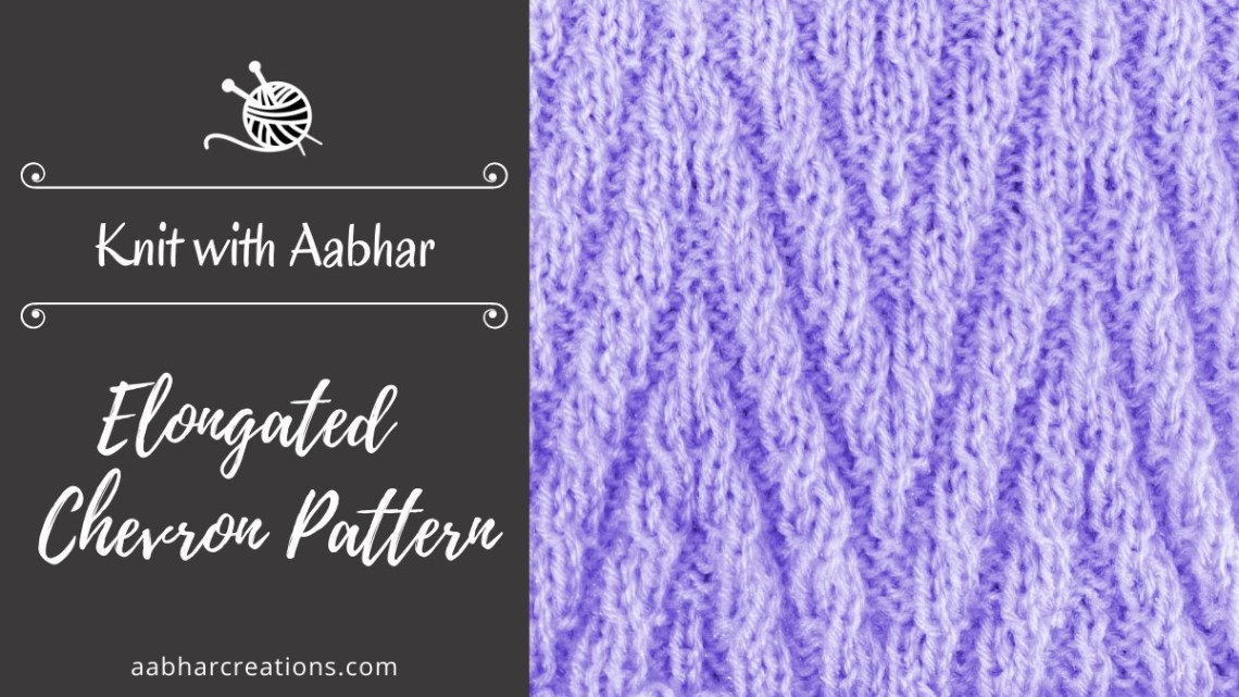 Elongated Chevron Featured aabharcreations