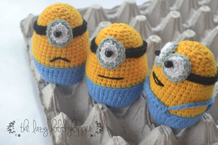 #2 Easter Egg Minions - Free Pattern