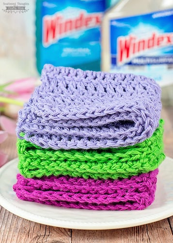#7 DIY Reusable Cleaning Cloths
