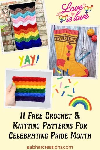 pride month free patterns