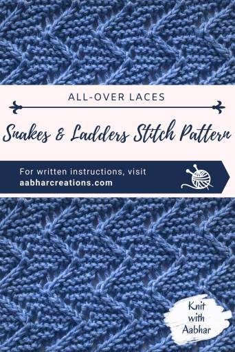 Snakes and Ladder Stitch Pin Image aabharcreations