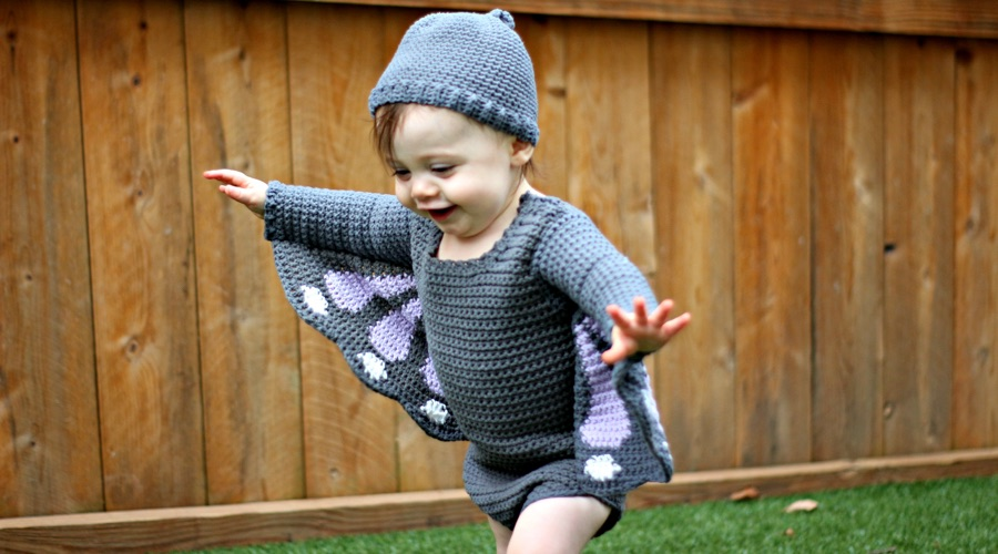 Pattern: Baby Butterfly Costume from Love Life Yarn