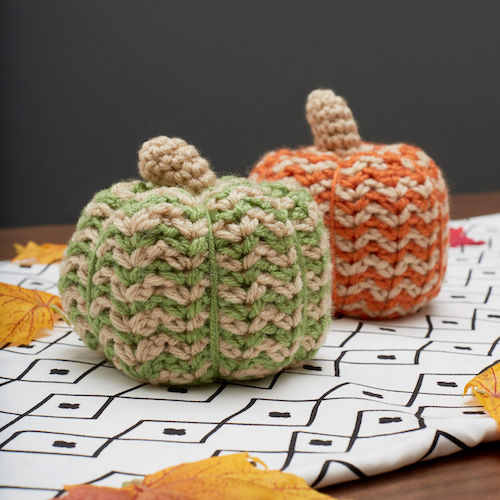 Pattern: Red Heart Spicy Crochet Pumpkin from Yarnspirations