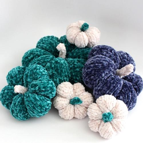 Pattern: Velvet Pumpkin Knitting Pattern from Studio Knit SF