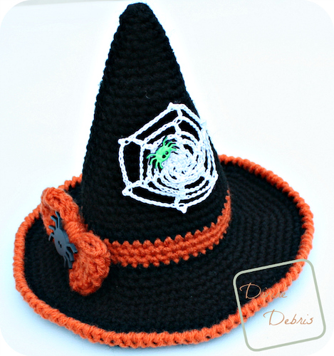 Pattern: I'll Put A Spell On You – the Winifred Witch Hat Crochet Pattern from Divine Debris