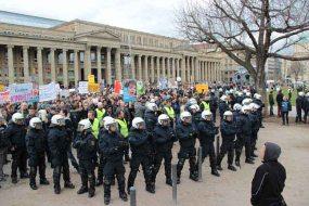 Polizei schützt Homophobe