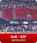AaB - AGF (28-09-03)