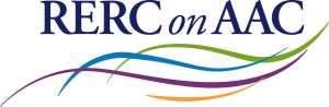 RERC on AAC logo