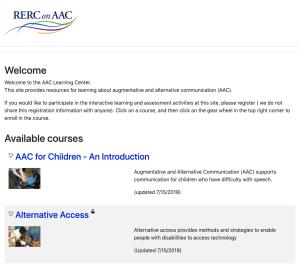 Enroll in module