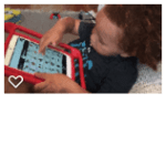 toddler with AAC