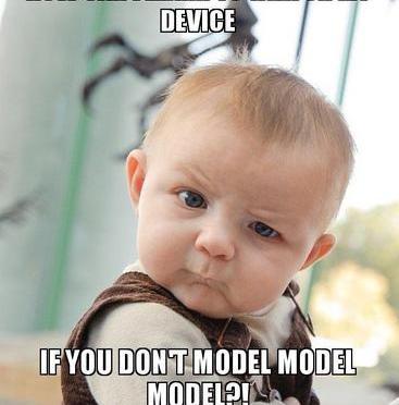 Baby Modeling meme