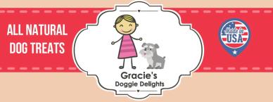 Gracie's Doggie Delights Logo