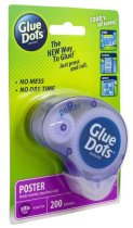 Image of a pack of glue dots.
