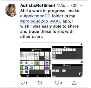 Image of a Tweet re POkemon by @autisticdoggirl