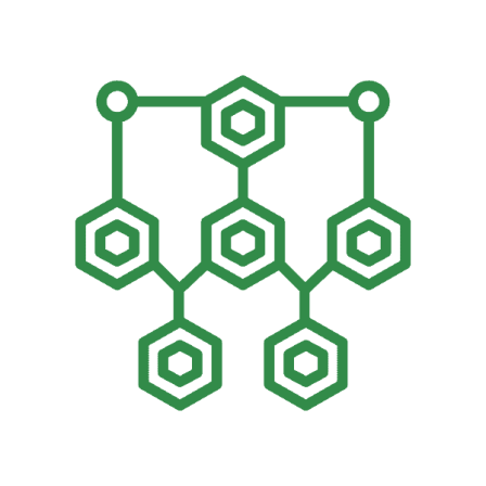 Green network icon