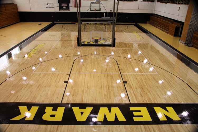 College NBA Performance Floors Photo Gallery  Aacer