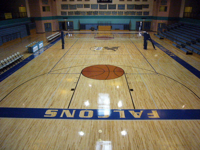 High School Gym Floors Photo Gallery  Aacer Sports Flooring
