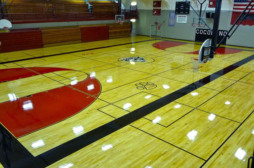 High School Gym Floors Photo Gallery  Aacer Sports Flooring