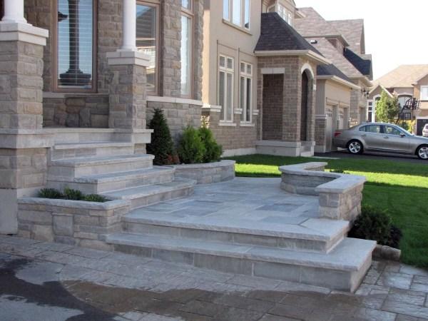02front Steps & Concrete
