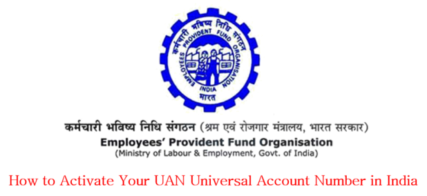 UAN activation by Employee