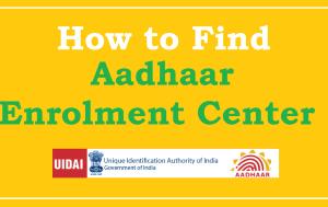 Aadhaar Card Centres in Vashi