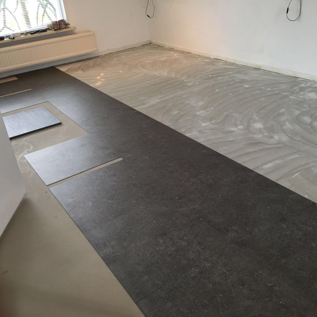 Betonlook Pvc Tegels : Tegels woonkamer betonlook pvc vloer voordelen fresh grijze
