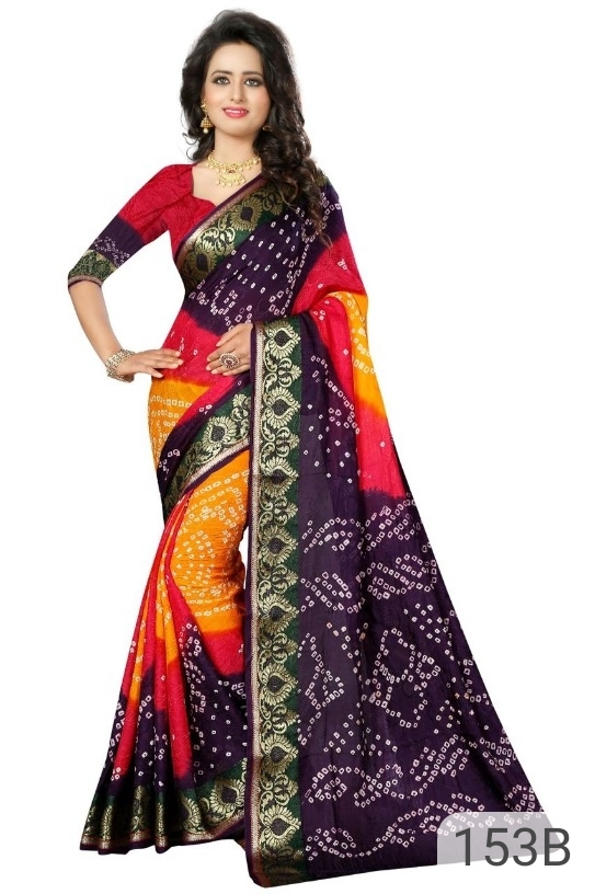 Bhagalpuri Cotton Silk Sarees